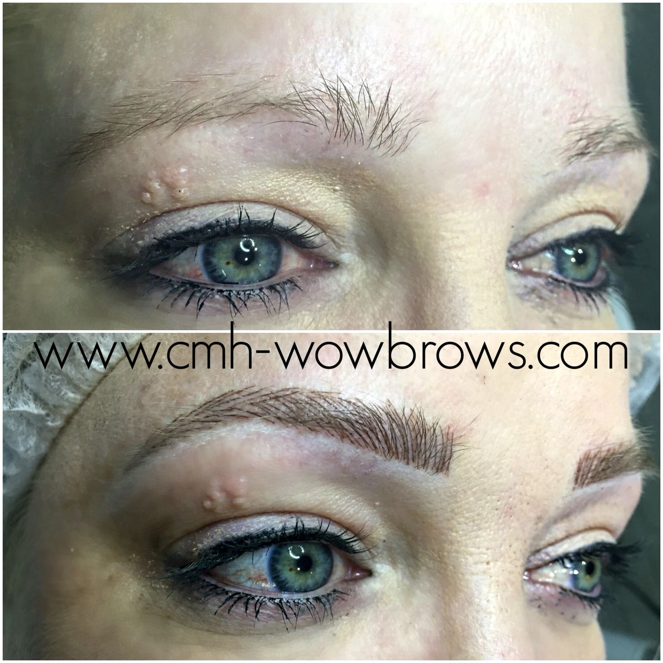 Microstroke microblading feathering feather touch brows for Eyebrow tattoo microblading