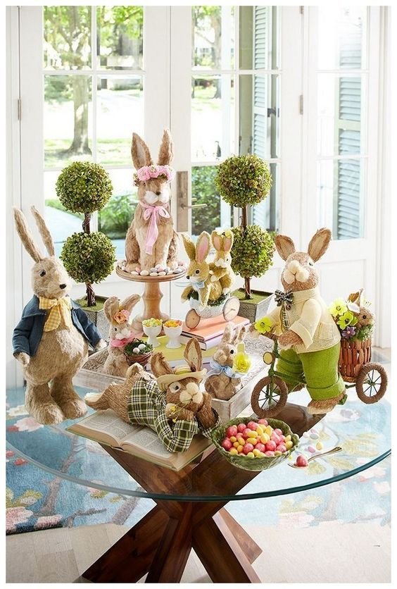 95 Appealing And Unique Easter Home Decorating Ideas In 2020