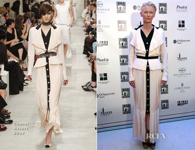 Tilda Swinton In Chanel – Public Talk and Q