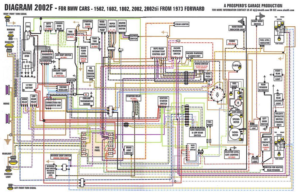 1973 bmw 2002 wiring diagram  schematic wiring diagram