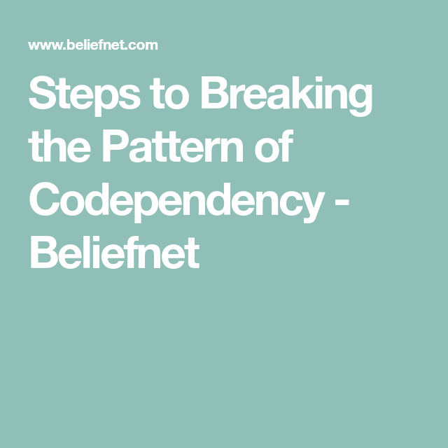 Ending unhealthy codependent relationships