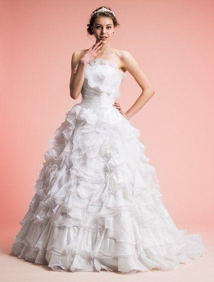 Avica-オーガンジー レース プリンセスラインウェディングドレス $45546.82 #avicaオーガンジー #bridal gown #プリンセスラインウェディングドレス #wedding #wedding dress #レース #bridal #my wedding