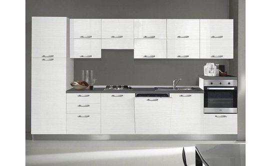 Cucina chiara lunghezza cm colori vari u conforama casa