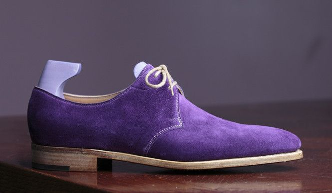 John Lobb Willoughby for Paul Smith in Regal Purple Suede