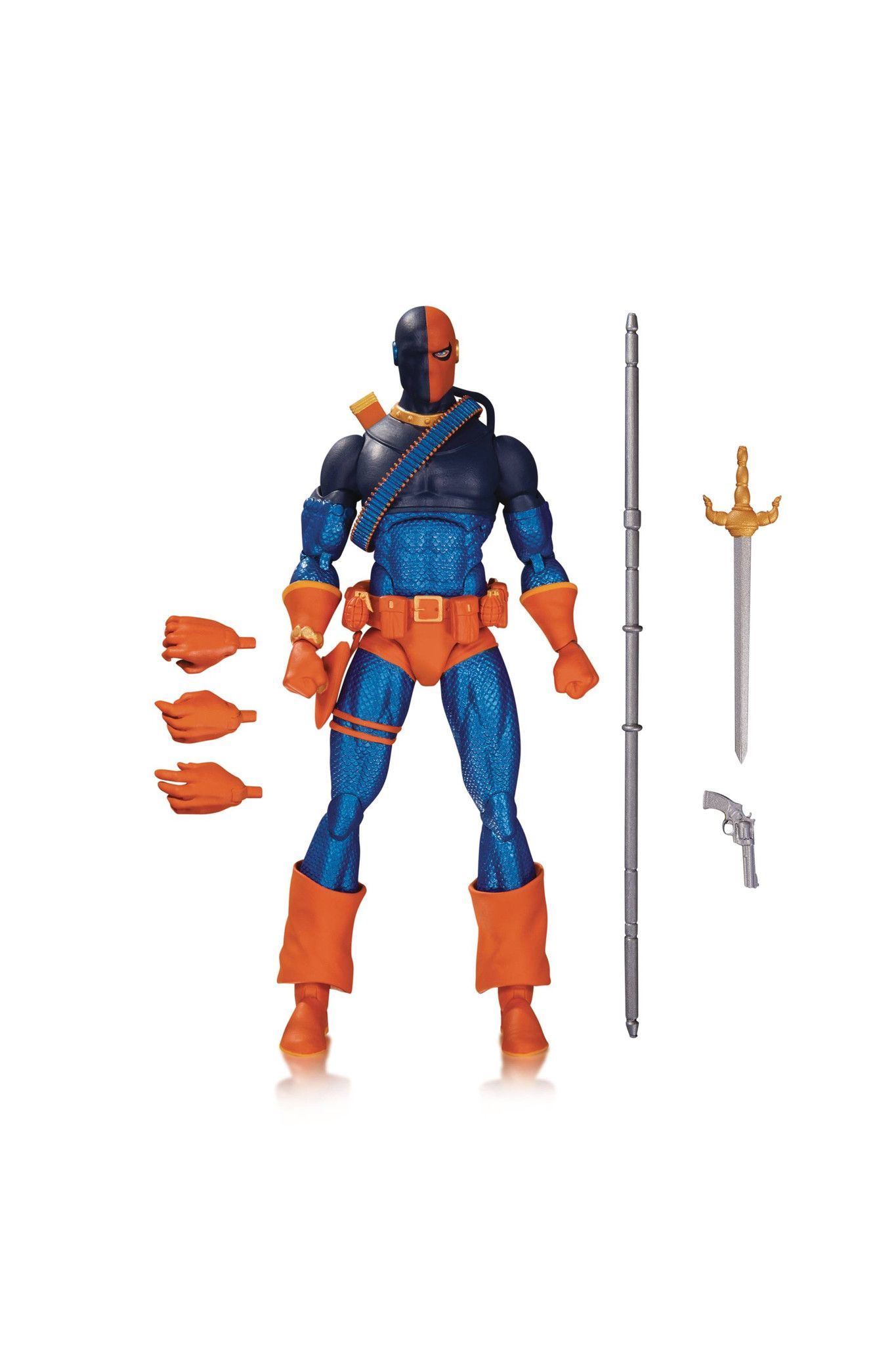 DC ICONS DEATHSTROKE AF Deathstroke, Dc icons, Dc comics