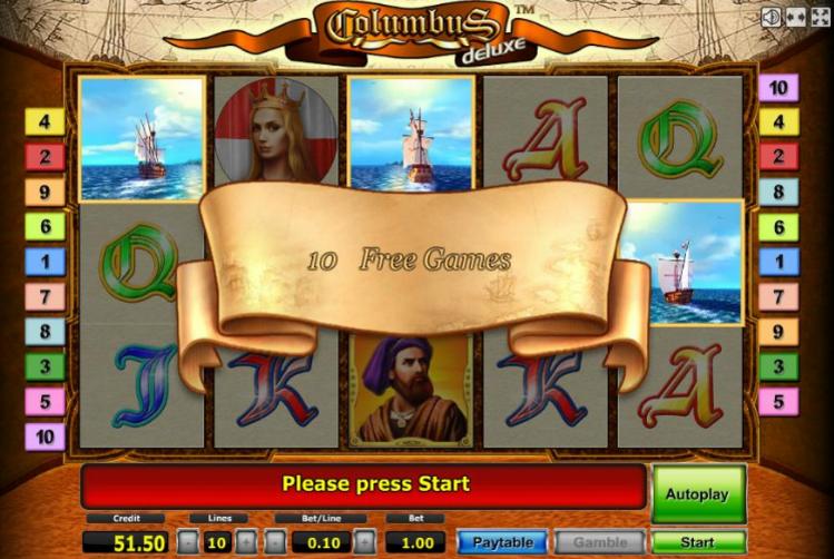 Игровой автомат колумб делюкс играть бесплатно игровые автоматы играть бесплатно и без регистрации ипподром