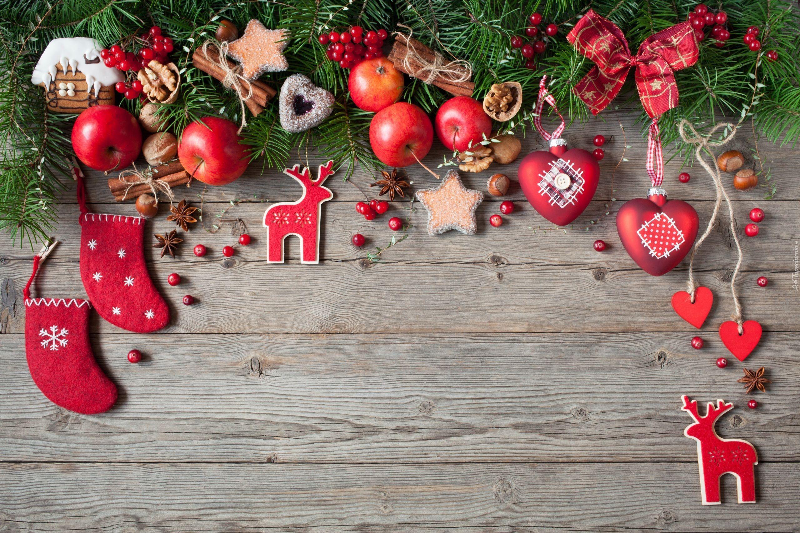Kompozycja Dekoracje świąteczne Boże Narodzenie Gałązki