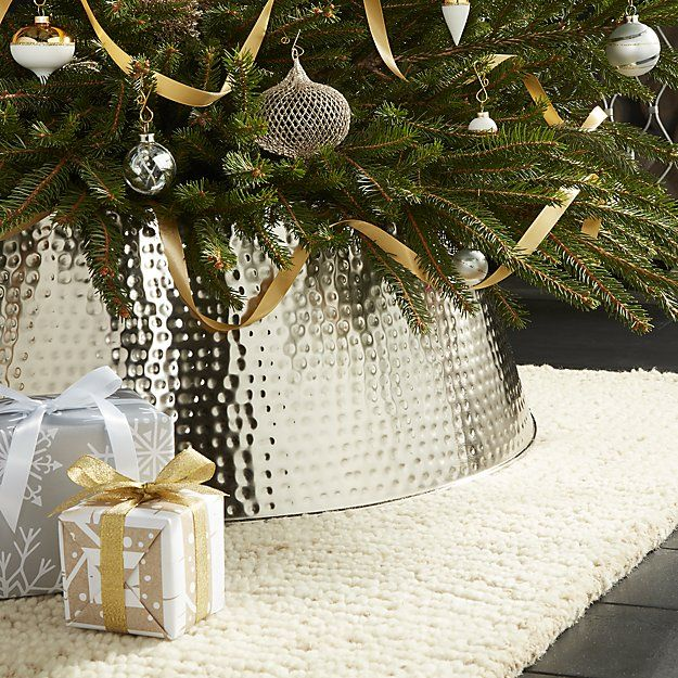 Bash Silver Tree Collar Crate And Barrel Holidays