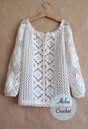 Crochet Lace Blouse Pinterest Crochet Lace Crochet And Patterns