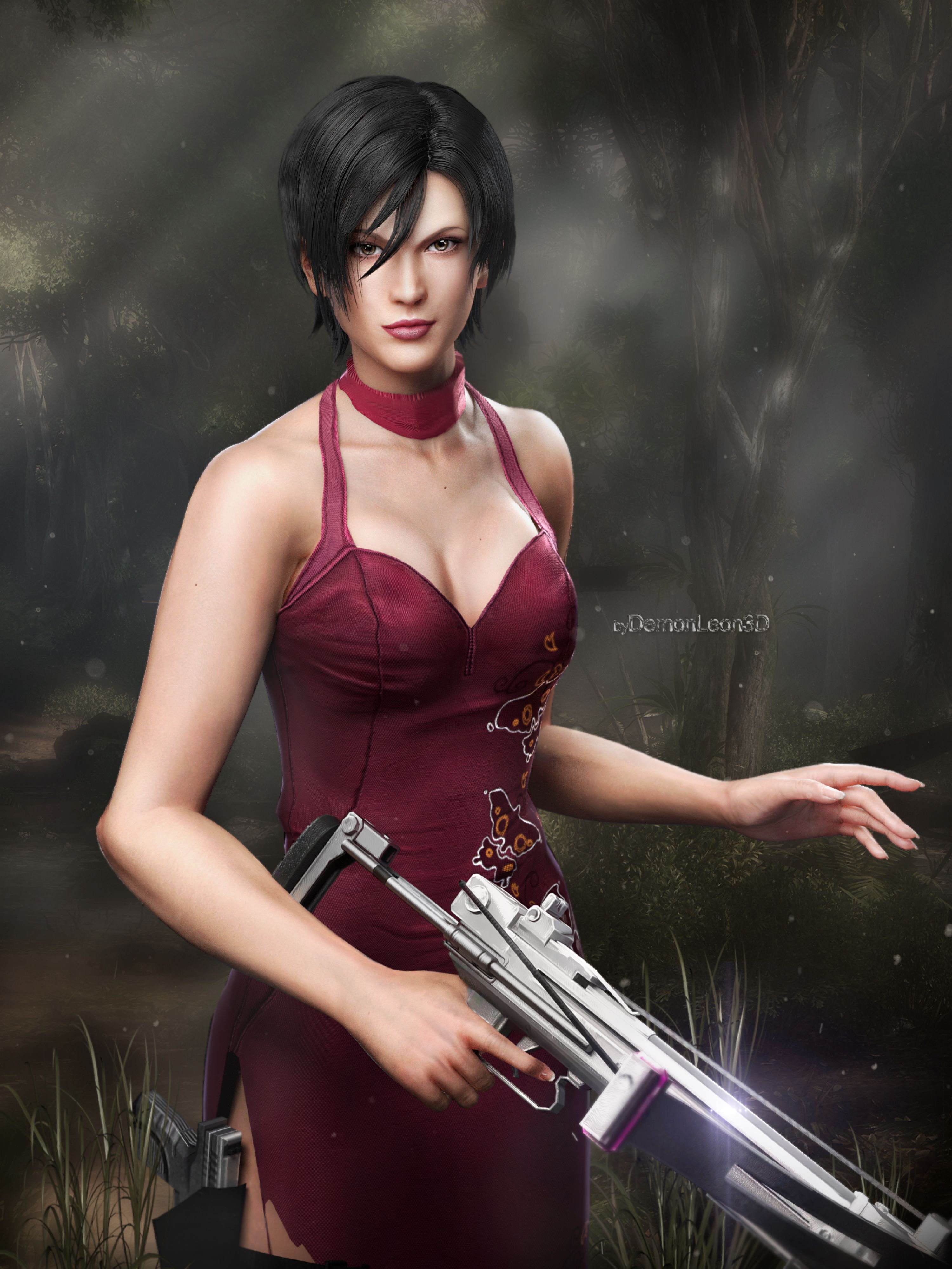 Shermie Cosplay is Ada Wong from Resident Evil - Cosplay