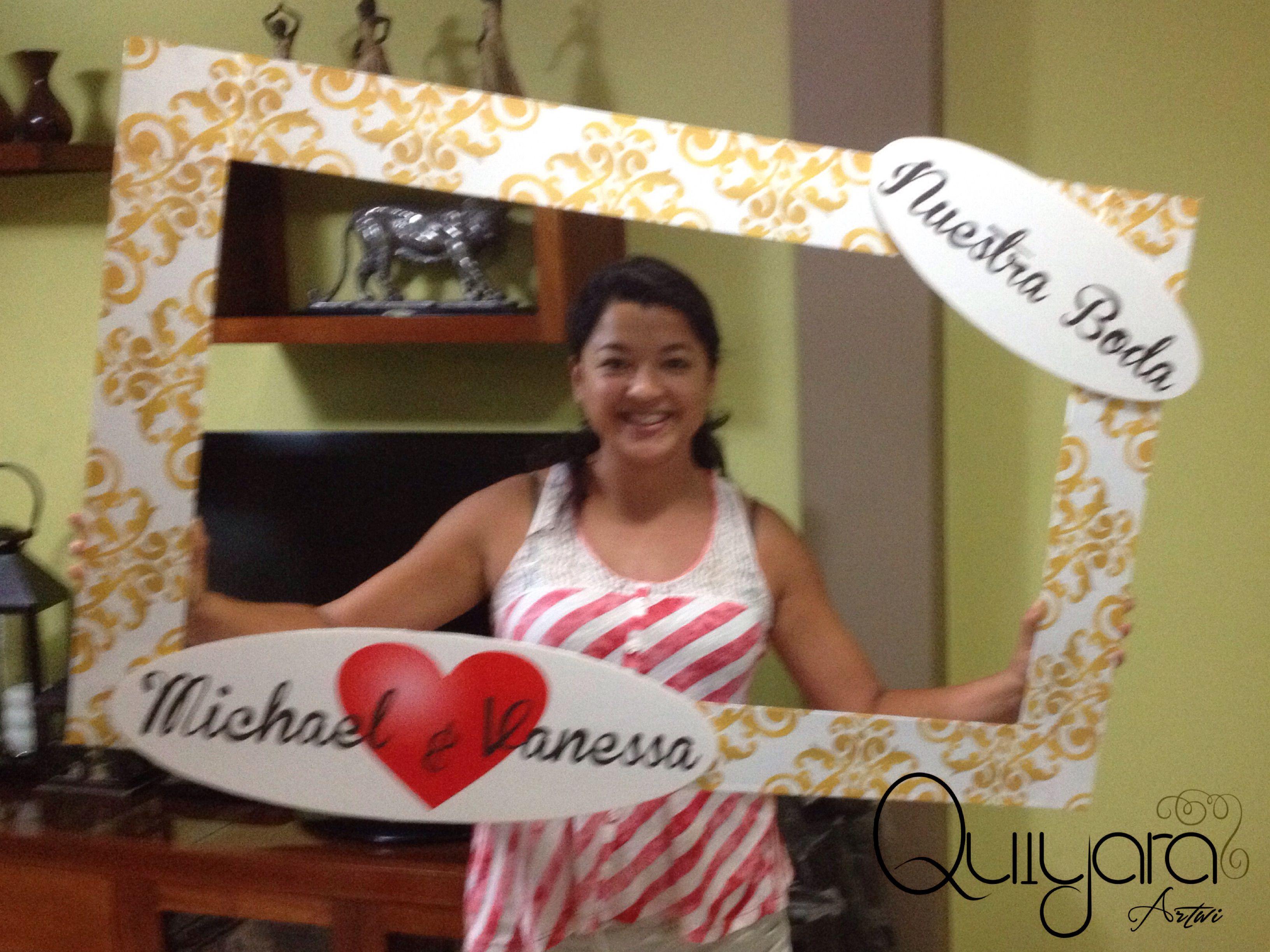 Cuadros para fotos personalizados cuadro tama o real cuadro para boda cuadro arabescos - Cuadros fotos personalizados ...