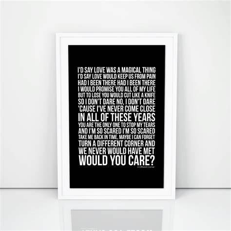Untitled in 2020 Lyric poster