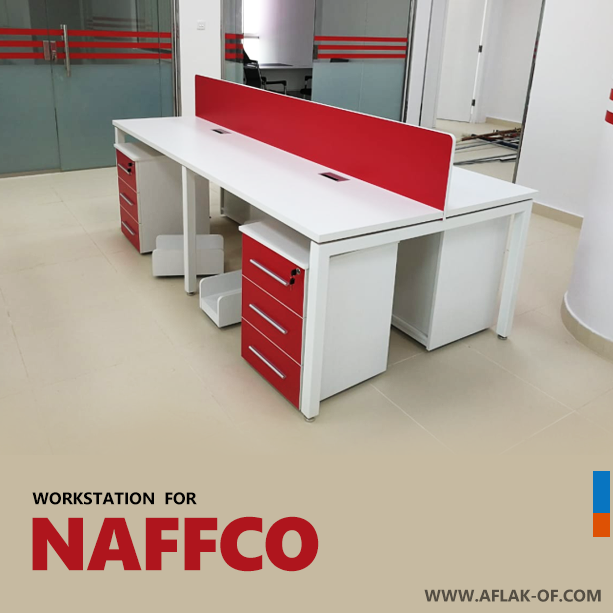 #Office #Workstation #Furniture For #NAFFCO In #Saudi