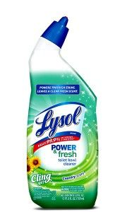 Save 0 75 Off 2 Lysol Toilet Bowl Cleaners Toilet Bowl