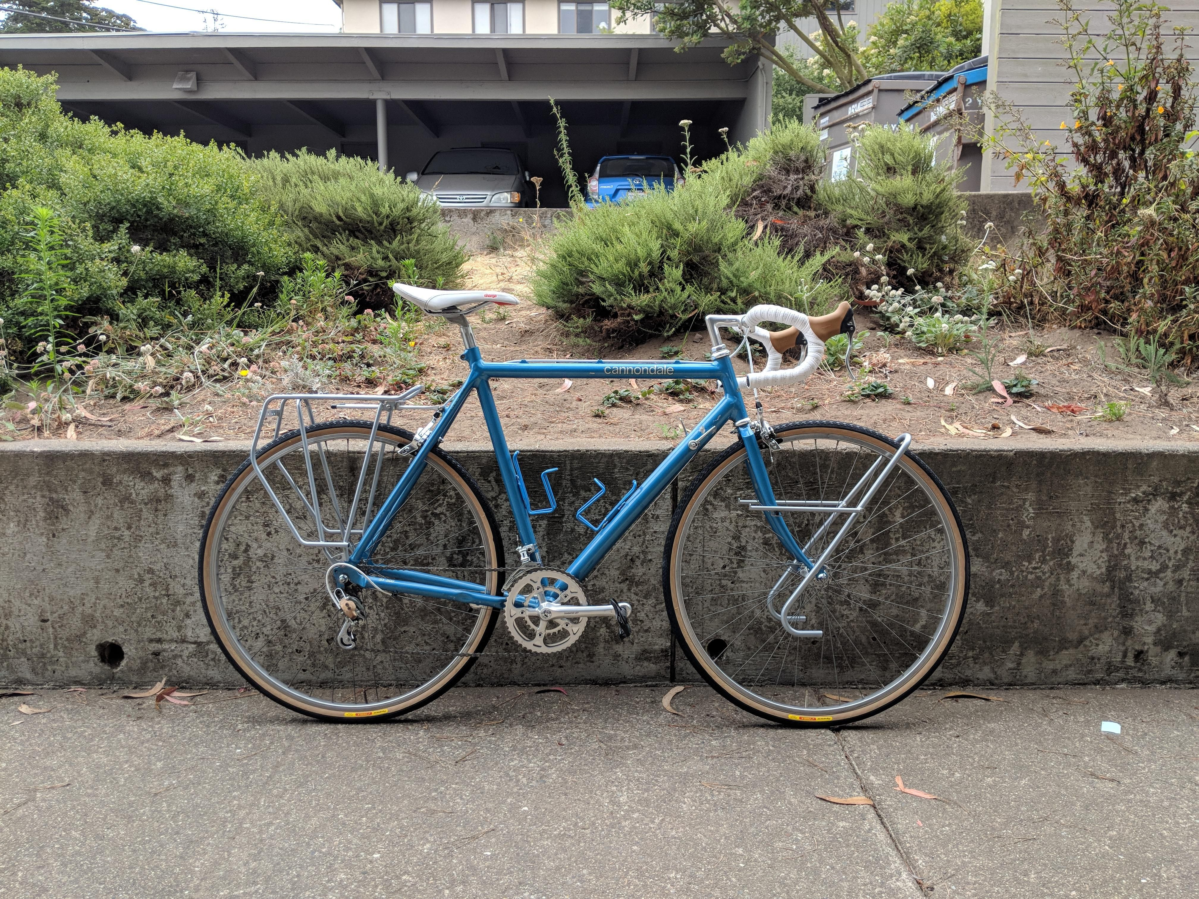 1985 Cannondale St 500 Touring Bike With Images Touring