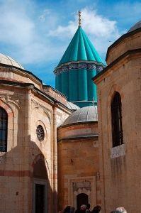16 Turqoise Dome, Mevlana Mausoleum #vhue #color