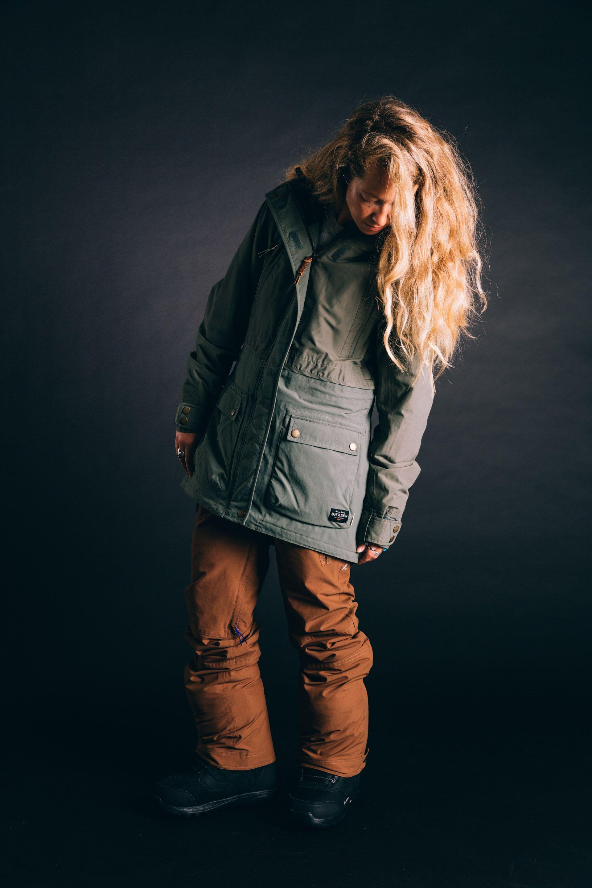 Veste snowboard pour femme