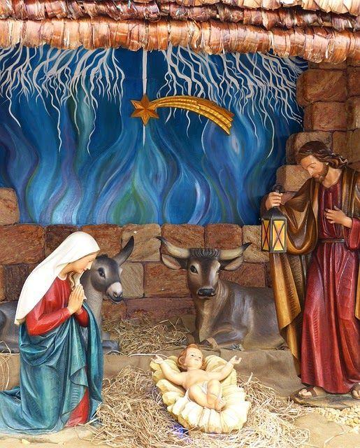 Disposition d'une crèche de Noël comme en Provence   Creche de