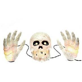 Halloween Skull with Hands Groundbreaker - 20 ct : Target