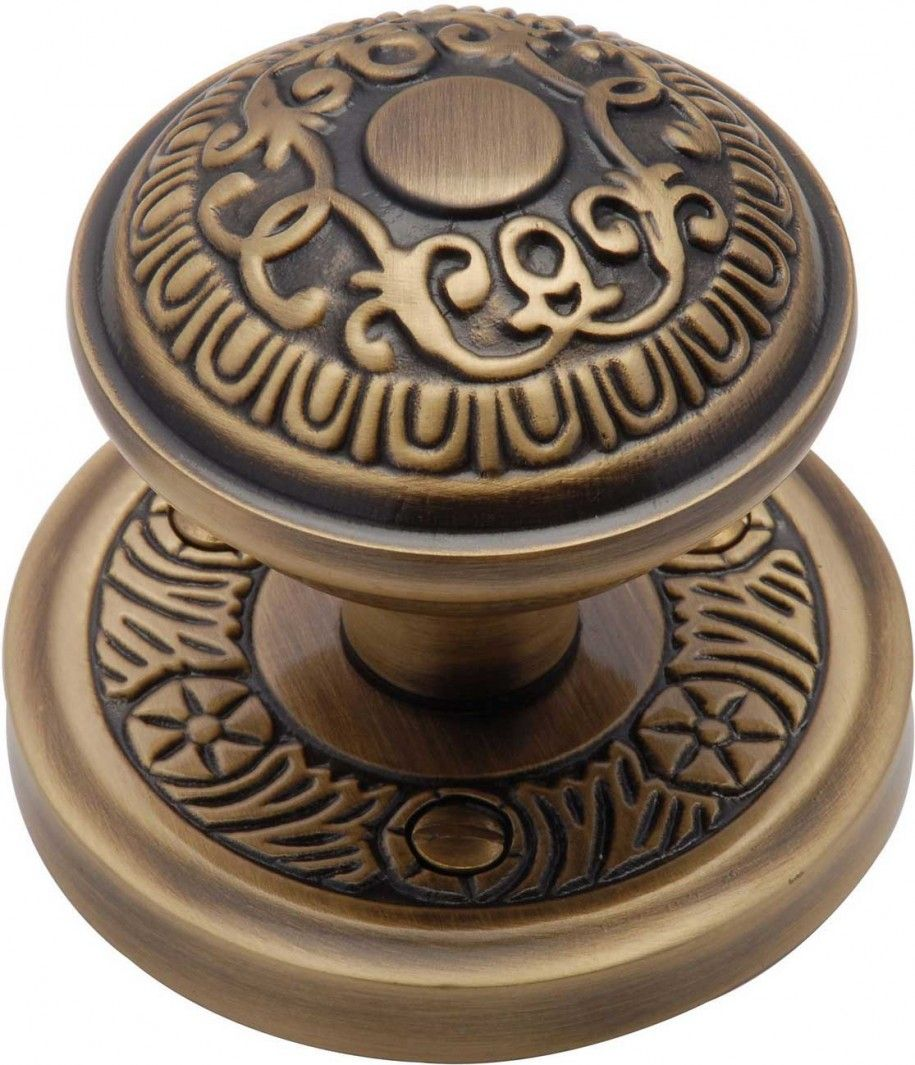 Elegant Door Knob With Dark Gold ~ Http://monpts.com/door Knob  With Various Options/