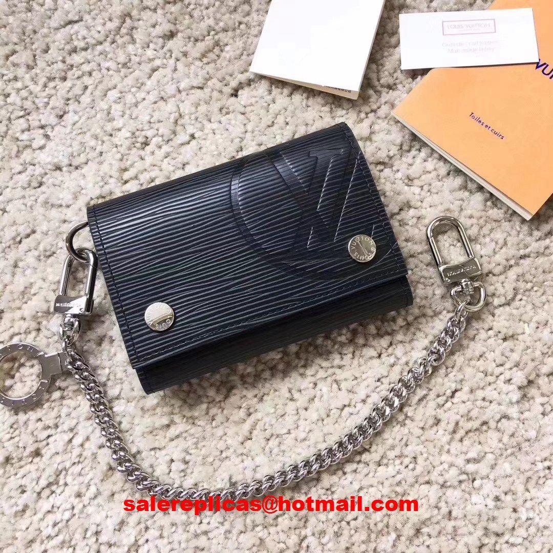 956972a79ff50 Louis Vuitton Rivets Chain wallet M63518 1