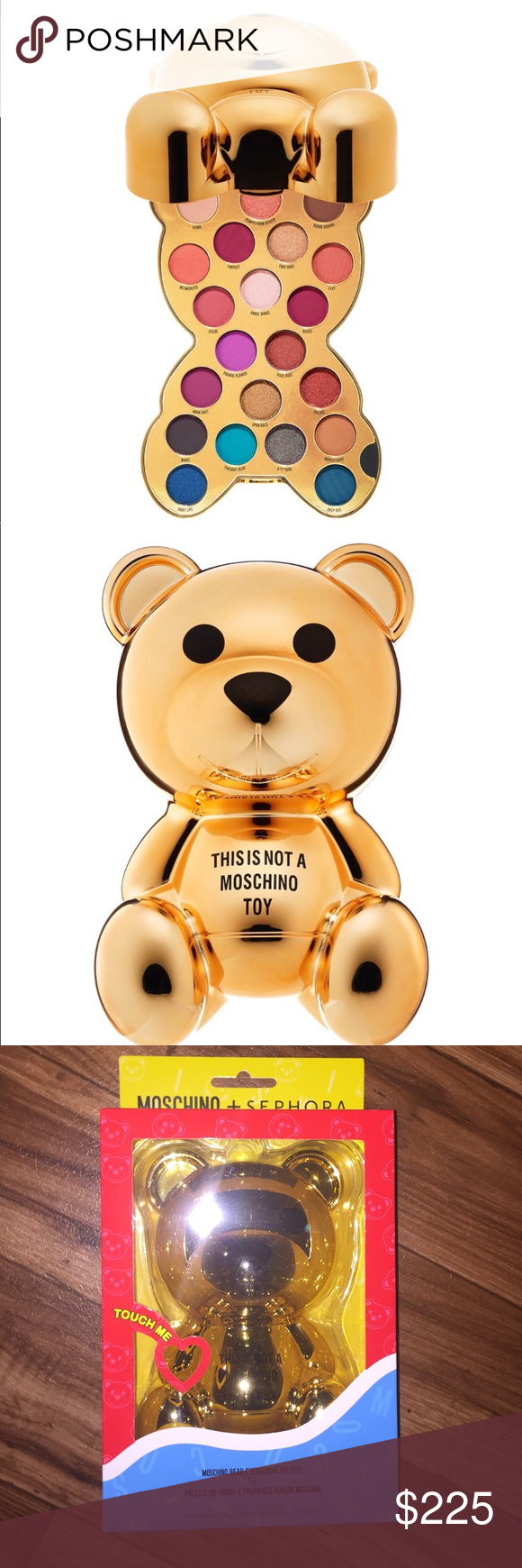 Moschino Sephora Moschino Sephora Teddy Bear Eyeshadow Pallet New In
