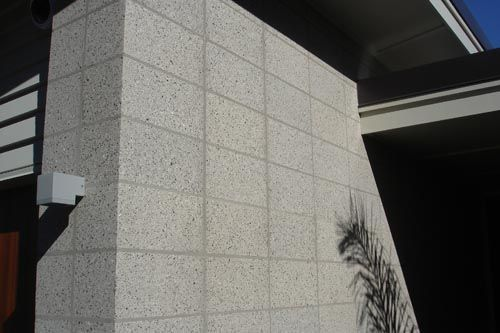 Surface Matters Block Honing Coatings And Flooring Applications For Concrete Concrete Blocks Modern House Exterior Concrete