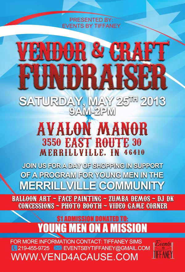 Indiana Craft Show  1st Annual Jump Into Summer Vendor \ Craft - fundraising flyer