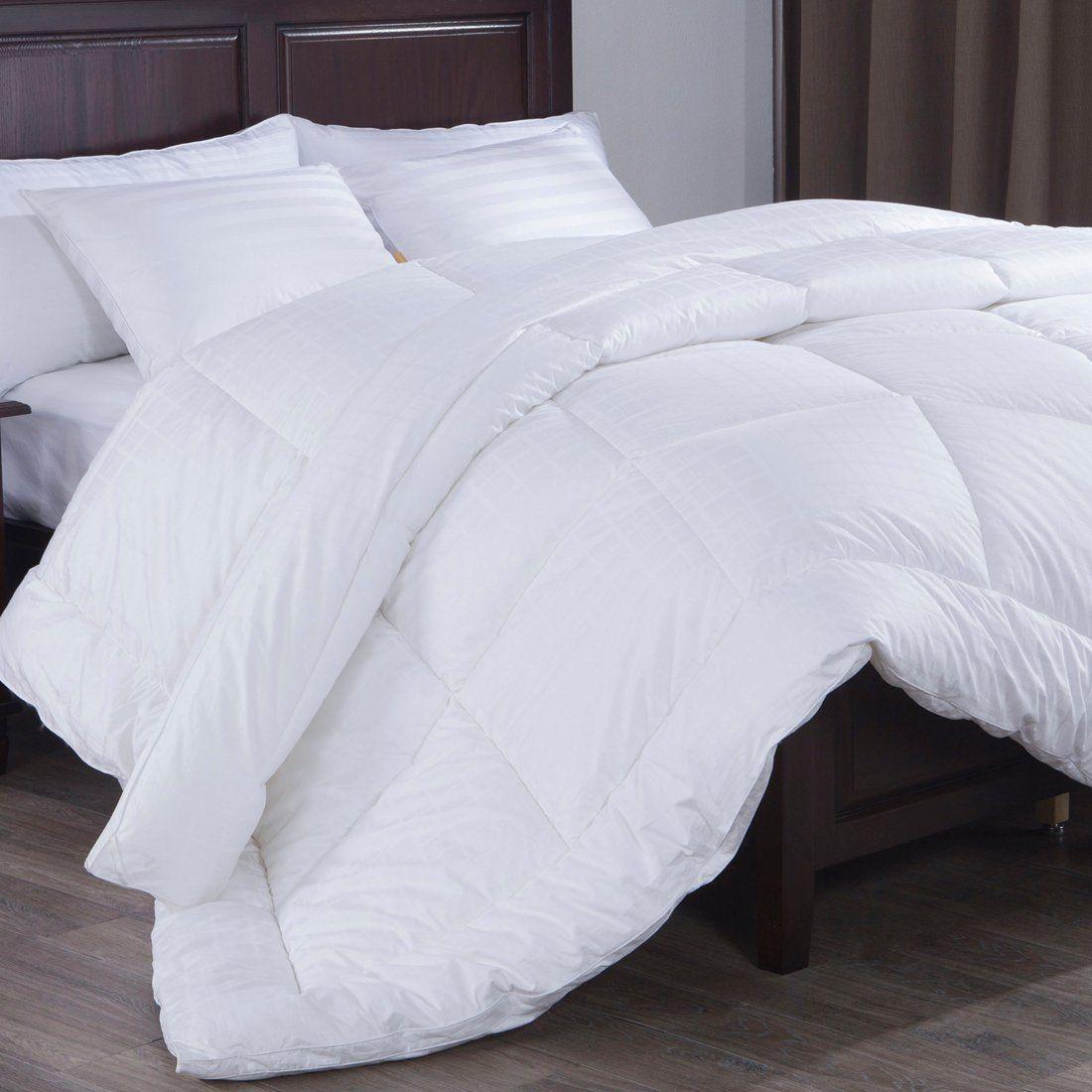Down Alternative Comforter Duvet Insert Gusset Siding 300 Tc