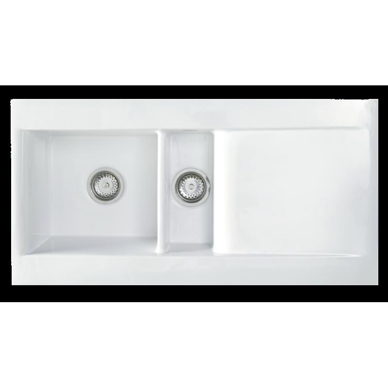 Nimes 1.5 Bowl Ceramic Sink | small kitchen | Pinterest | Ceramic ...