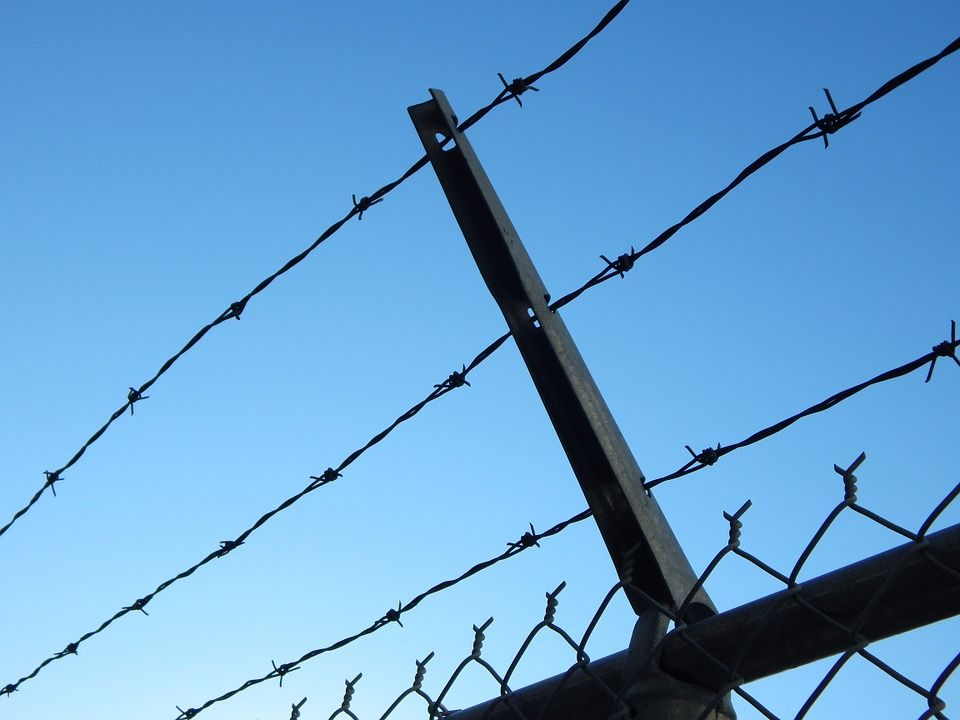 Free Image on Pixabay - Barbed Wire, Prison, Chain Link