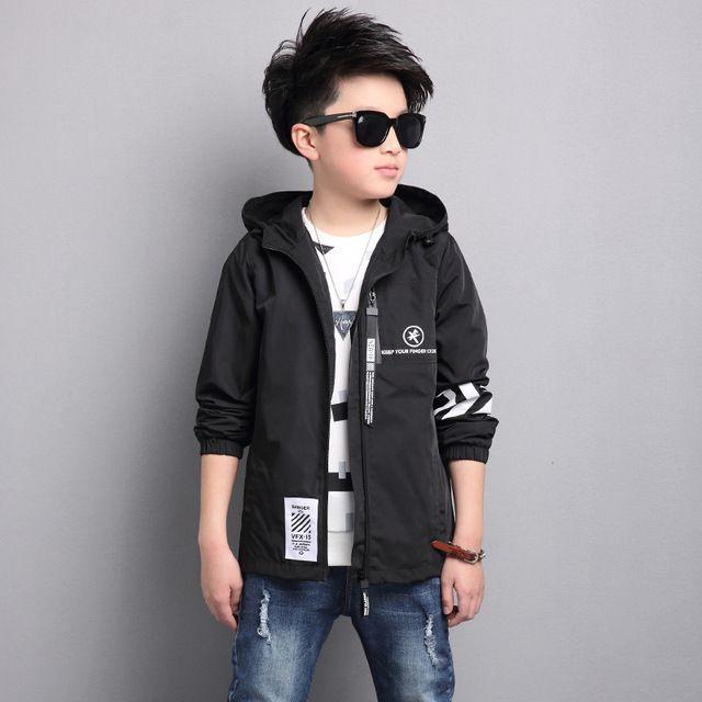 6baf7dea5 Special price 2017 new sportswear caot boy jacket big children style ...