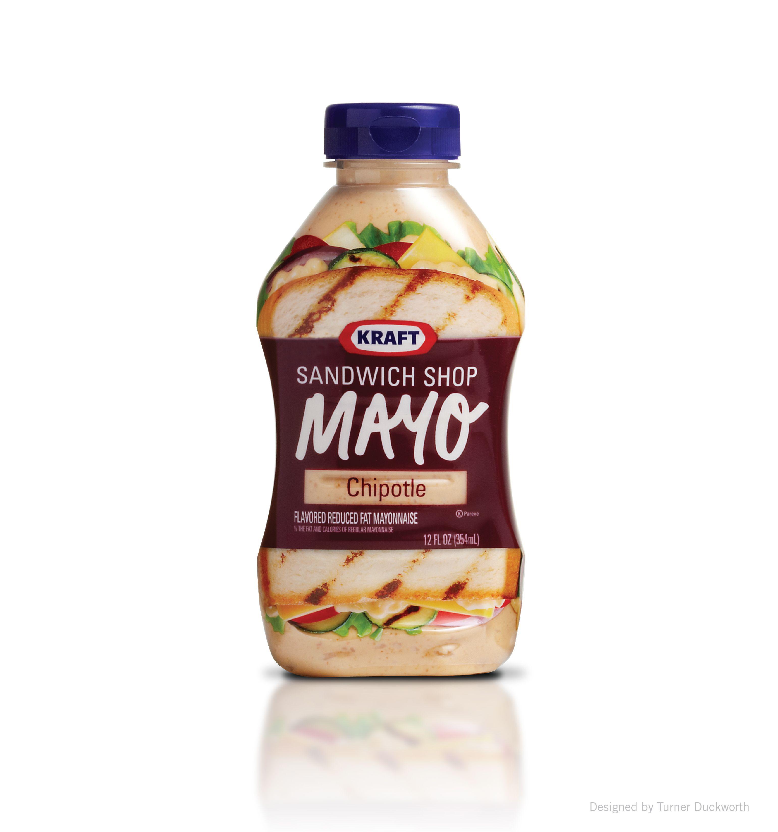 Kraft Mayo Sandwich Shop packaging. Designed by Turner