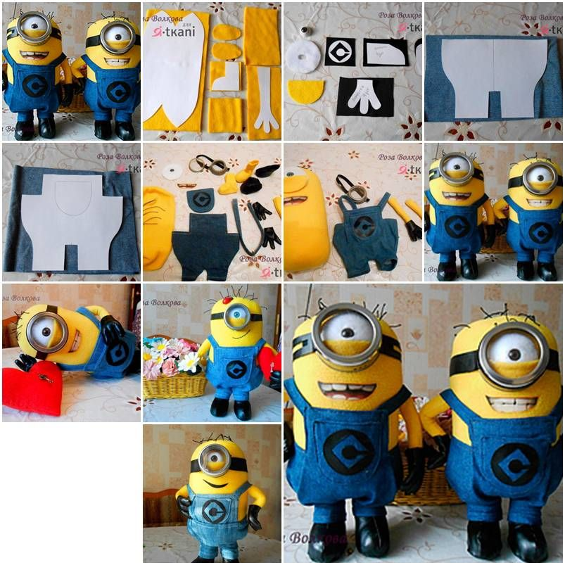 How to make minion toy doll step by step diy tutorial instructions how to make minion toy doll step by step diy tutorial instructions how to how to do diy instructions crafts do it yourself diy website solutioingenieria Gallery