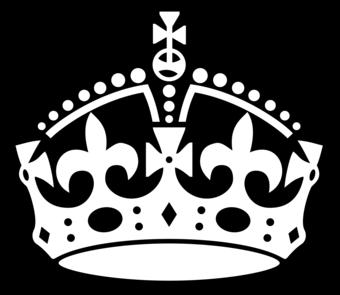 Keep Calm Crown White Crown Clip Art Crown Drawing Clip Art