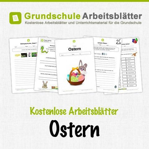 Kostenlose Arbeitsblätter und Unterrichtsmaterial zum Thema Ostern ...
