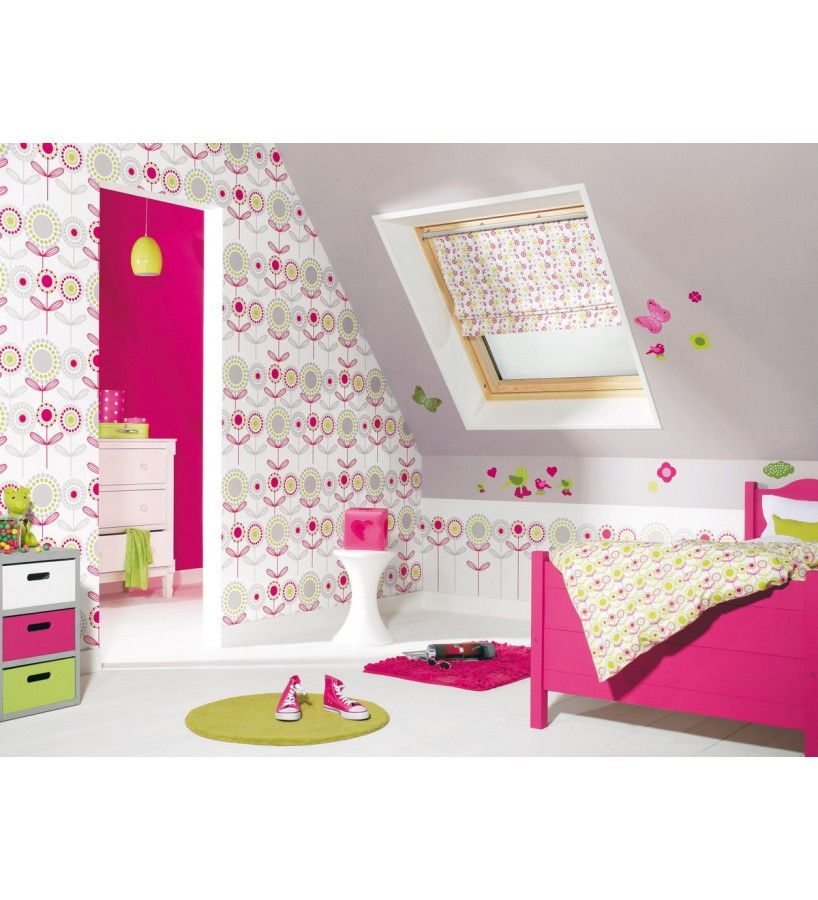 Papel Pintado Caselio Miss Zoe 54064207. Papeles para paredes ...