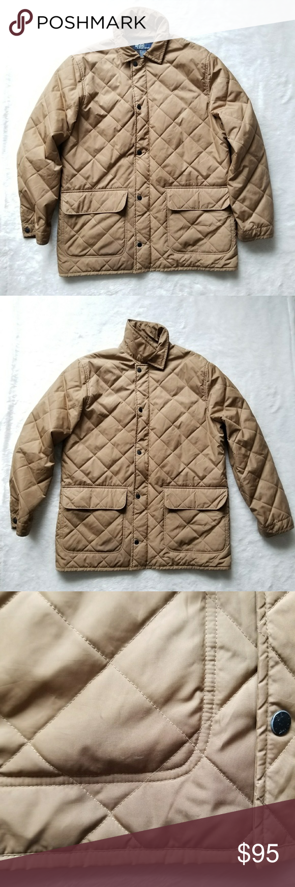 Wool Lined Quilted Polo Jacket Polo Jackets Clothes Design Quilted Jacket [ 1740 x 580 Pixel ]