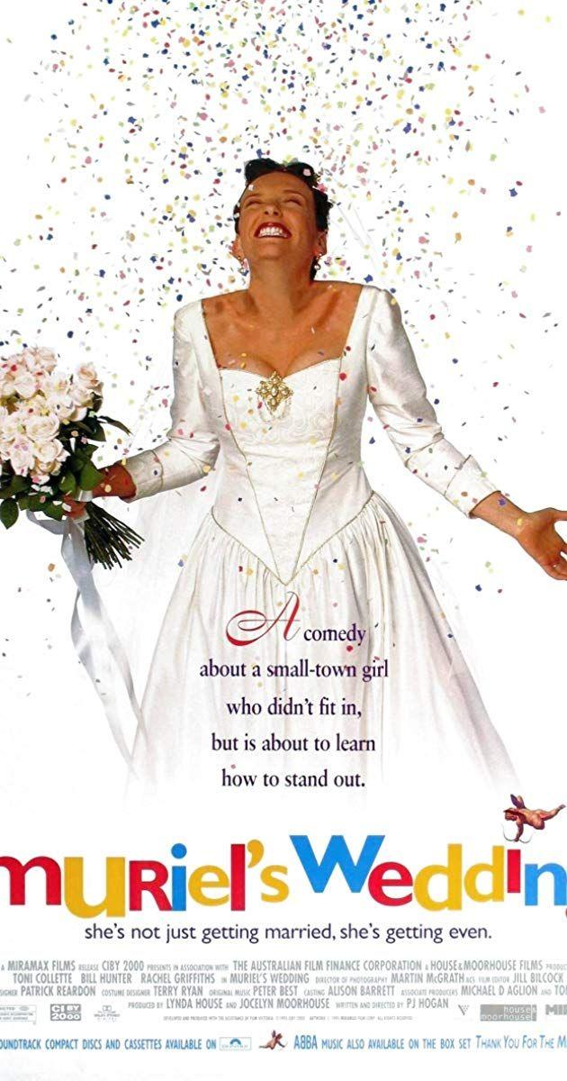 Muriel's Wedding (1994) IMDb Wedding movies, Muriel's