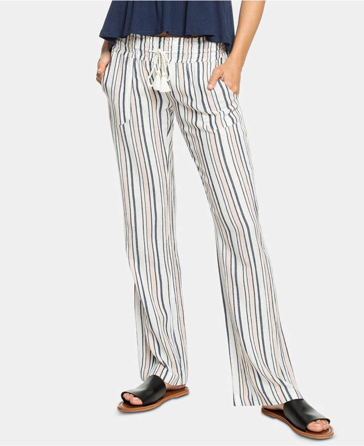 93d61c493a10 Juniors' Striped Soft Pants in 2019 | Products | Linen pants outfit ...