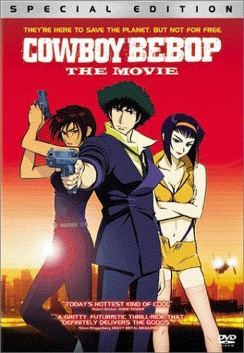 Cowboy Bebop: The Movie DVD Kôichi Yamadera, Unshô Ishizuka, Megumi Hayashibara