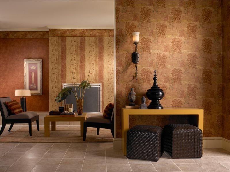 Warm And Cozy Wallpaper Living Room Design Inspiration Wallpaper Living Room Living Room