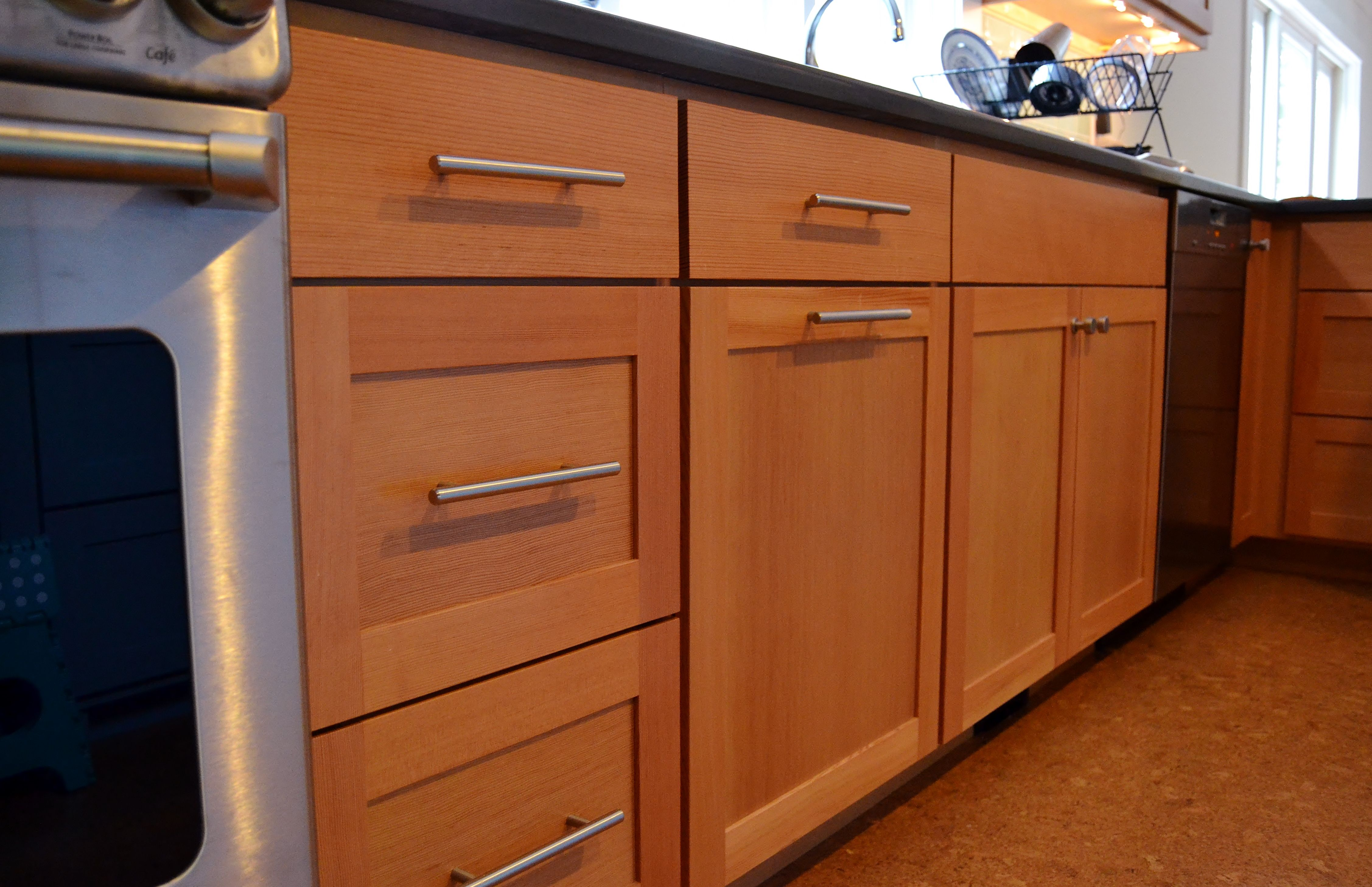 Warm Fir Kitchen And Beautiful Blue Island White Wood Kitchens Kitchen Projects Design Cost Of Kitchen Cabinets