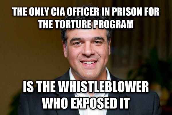 The only CIA Officer in prison for the torture program is the Whistleblower who exposed it!   Please SIGN the petition to pardon John Kiriakou and share it widely. Petition link: http://cms.fightforthefuture.org/pardonjohn/   1/14