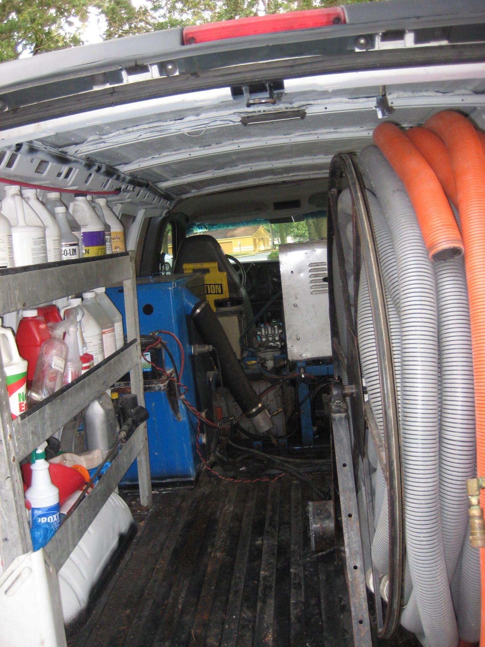 LOOK Prochem Truck Mount in 2002 chevy express 2500 van