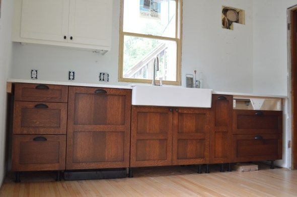 Brown Mahogany followed by Antique Walnut Gel Stain | New house ...