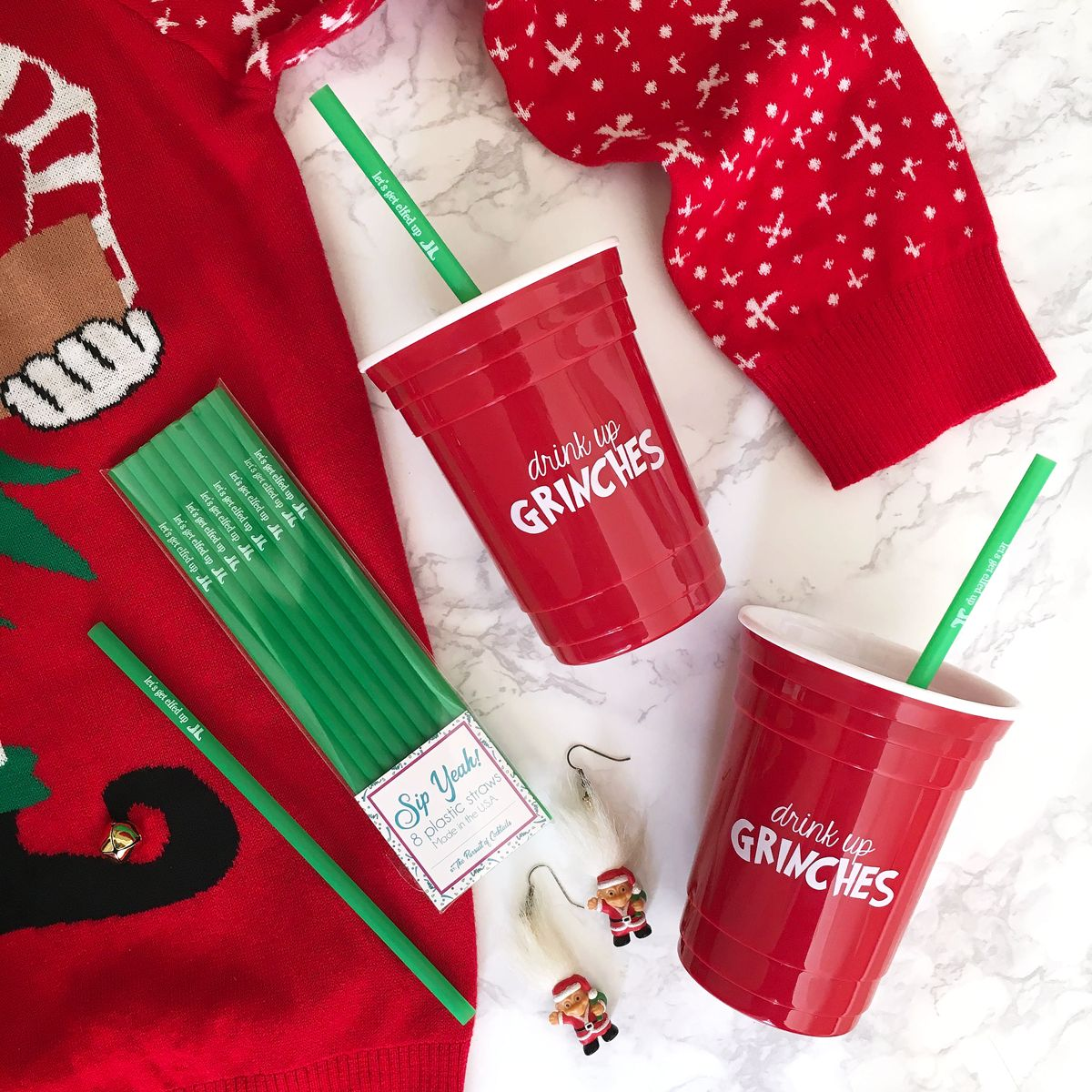 ugly christmas sweater party favors