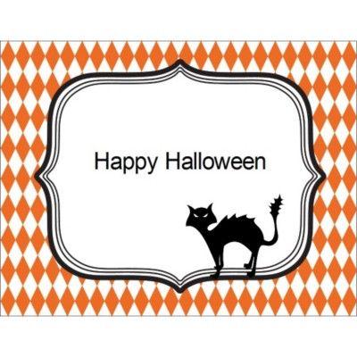 Avery Design Print Online Halloween Template Cat Halloween