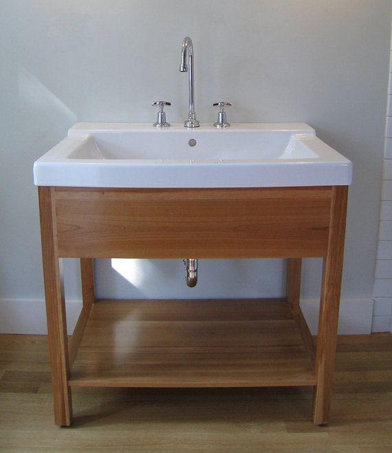 Handmade Bathroom Vanity Otto Woodwork Bathroom Vanity Wood
