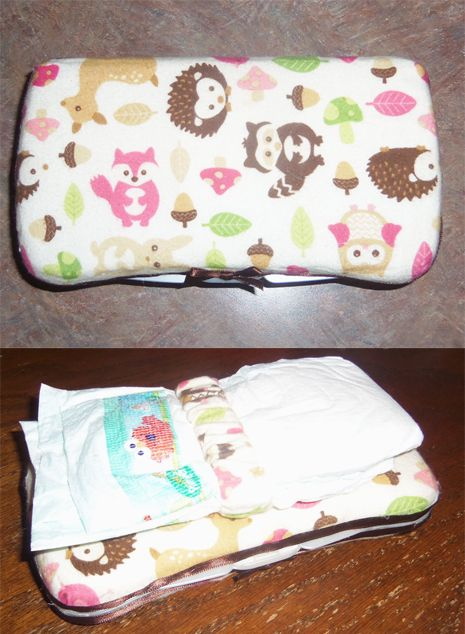 Made This For Millie Travel Diaper Wipe Container With A